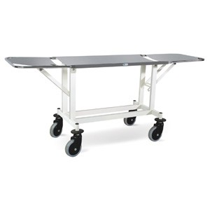 Stretcher Trolley - Both Ends Folding (MS Framework & SS Stretcher Top)