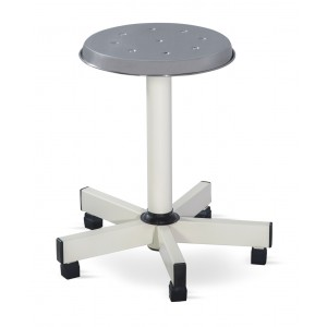 Revolving Stool - MS Framework (Five pronged Base)