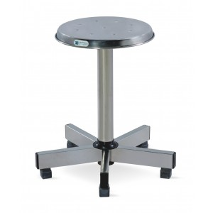 Revolving Stool - SS Framework (Five pronged Base)