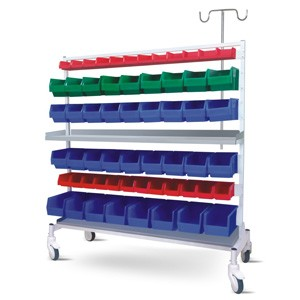 Multiple Bins Trolley (Big) - MS Framework