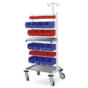 Multiple Bins Trolley (Small) - MS Framework