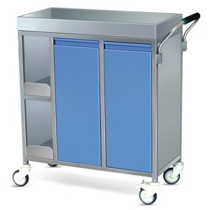 Food Serving Trolley - SS Framework