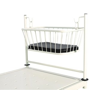 Crib with Attachment with Mattress