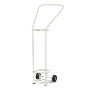 Oxygen Cylinder Trolley (Push type)