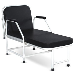 Attendant Bed with Mattress (Backrest Reclining Manually)