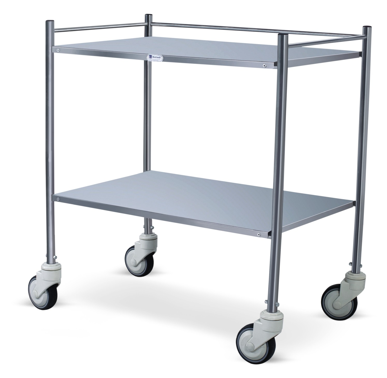 """Instrument Trolley - Stainless Steel (38"""" X 18"""" X 33"""")"""