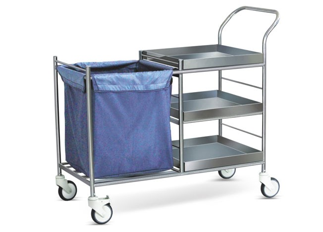 Linen Serving Trolley - SS Framework