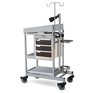 Baby Resuscitation Trolley - SS Framework