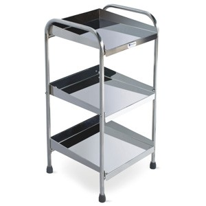 Bedside Stand with Shelves (Fully SS)