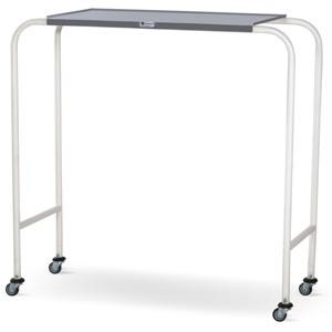 Overbed Table - MS Framework and Plain SS Top (Fixed Height)