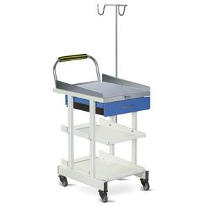ECG Machine Trolley with Drawer- MS Framework