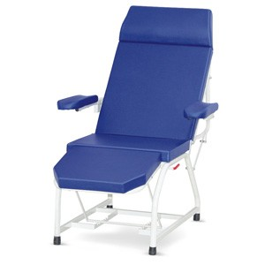 Attendant Bed with Mattress (Backrest Reclining on Gas Spring)